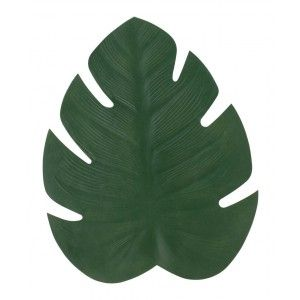 Tablett Monstera