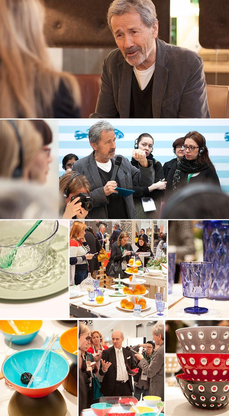 Design tour with plastics revolutionary Hansjerg Maier-Aichen.