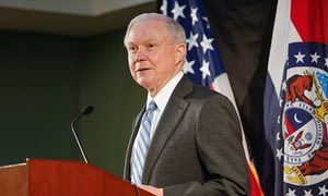 Jeff Sessions admits crime is near historic lows despite his past warnings   US news   The Guardian