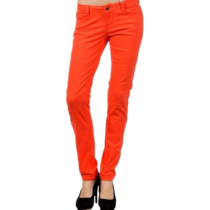 Best 25+ Color Skinny Jeans Ideas On Pinterest