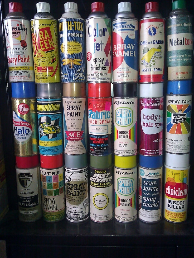 17 best images about vintage labels tags on pinterest sodas sprays and paint Paint with spray can