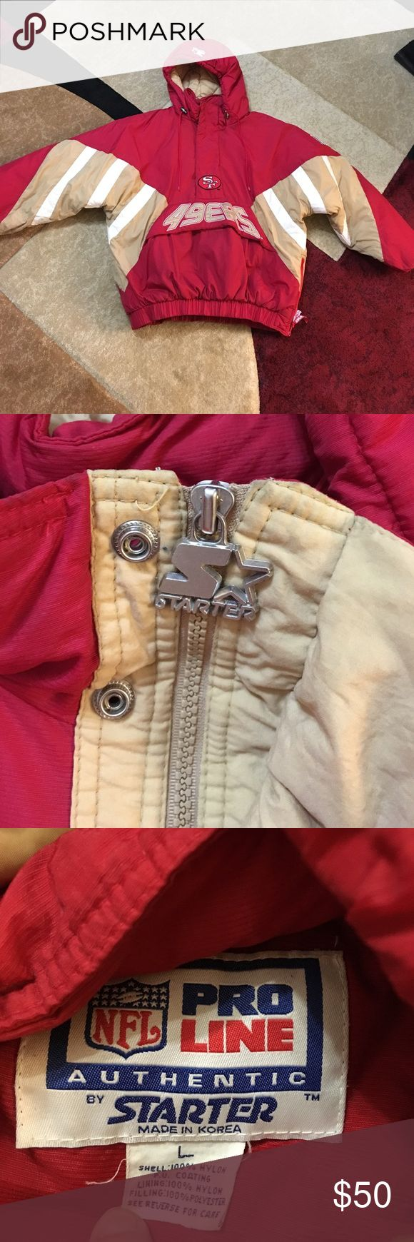 SF 49ers jacket Excellent condition Jackets & Coats Bomber & Varsity