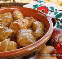 Sarma (Serbian Stuffed Cabbage)...had this at the world food festival in my hometown and it was absolutely delicious!