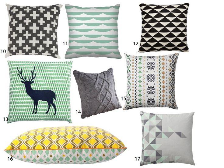 17 meilleures id es propos de coussin scandinave sur pinterest oreillers - Coussin design scandinave ...