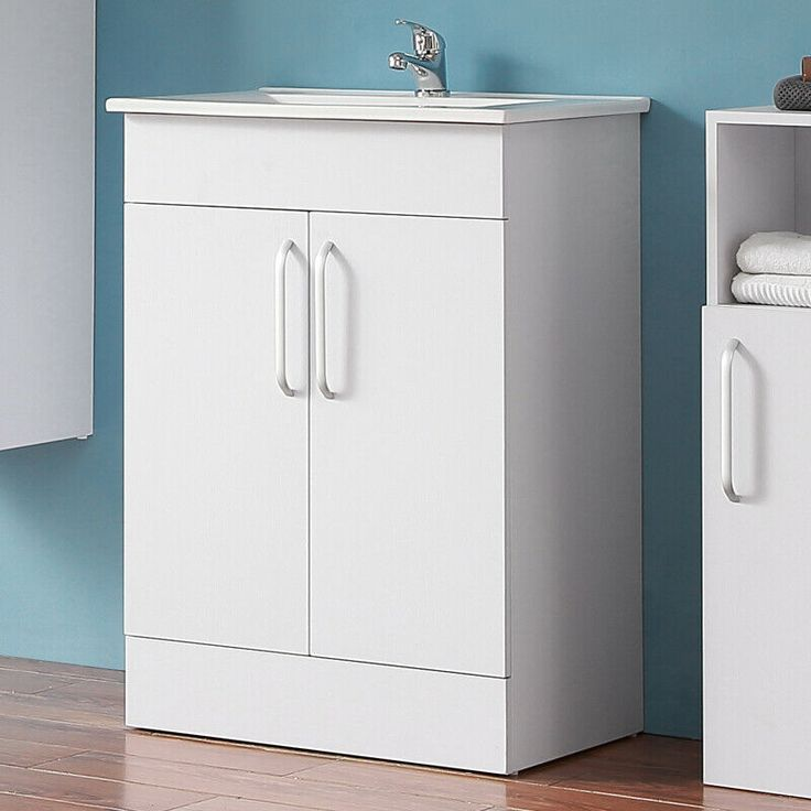 Ideal Standard Bathroom Vanity Unit With Minimalistic Basin Two Doors Floor Wall Ebay Meuble Sous Lavabo Meuble De Salle De Bain Coiffeuses