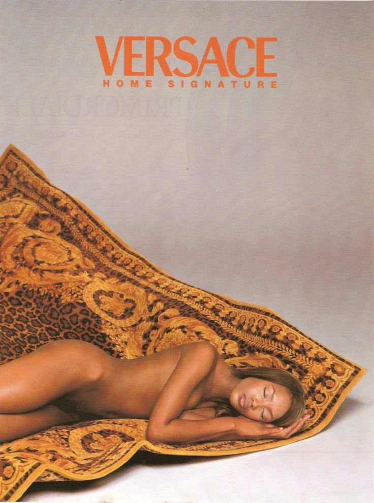 """a-state-of-bliss: """" Versace Home Signature 1997 - Naomi Campbell by Richard Avedon """""""