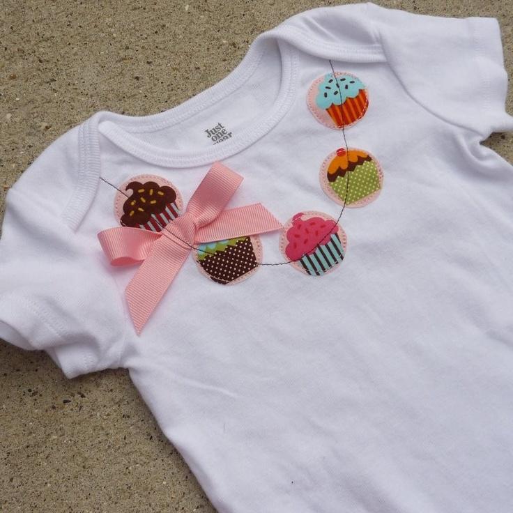 My Little Cupcake Necklace Shirt / Onesie.