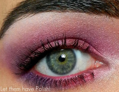 Let them have Polish!: LTHP's Very First #EOTD #FOTD and #OOTD Post!!: Pretty Eye, Green Eyes