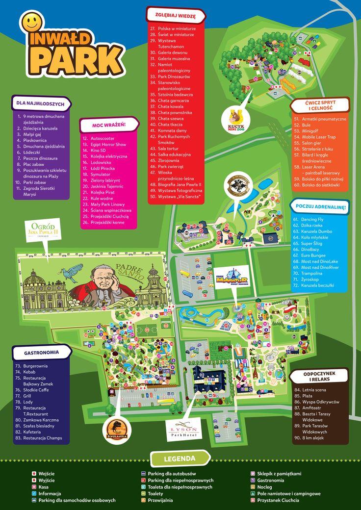 Mapa Inwałd Park