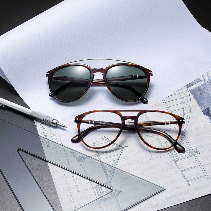 Persol introduces the Double Bridge Collection.