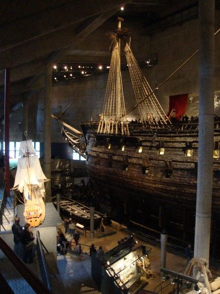 vasa museet stockholm, one of the best museums to visit.