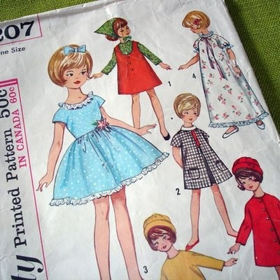Posing penny or Penny Brite dolls clothes. Also would hve fitted Little Tuppence.