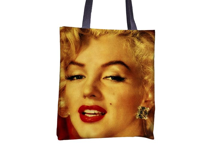 """Tote Bag - """"Marilyn Monroe"""" http://www.lawleypop.ca/shop/product/tote-bag-marilyn-monroe/ OFFICIAL LAWLEYPOP MERCHANDISE #allover #full #seamless #doublesided #print #printed #printing #lawleypop #lwleypop #lawleypopdesign #lawleypopmerch #fashion #accessories #style #bags #totes #totebags #handbags #shoulderbags #chic #street #urban #unique #custom ##art #design #painting #hollywood #star #starlet #50s #60s #sexy #red #lips #moviestar #actress #sultry #sex #symbol #label #logo #brand #free"""