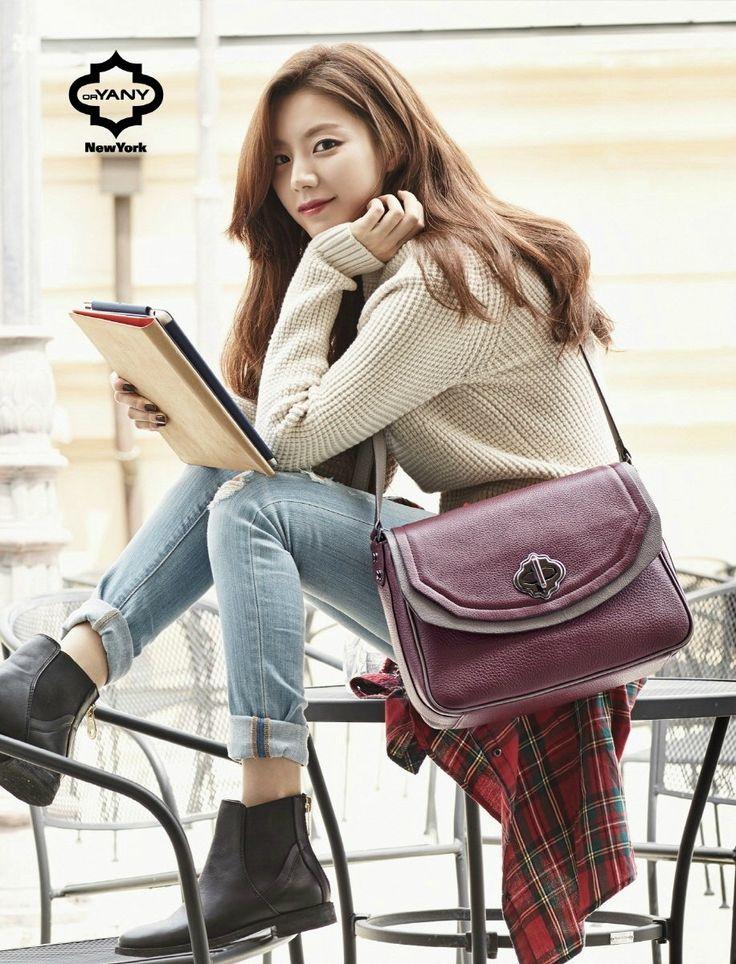 Korean photoshoots Park Soo Jin