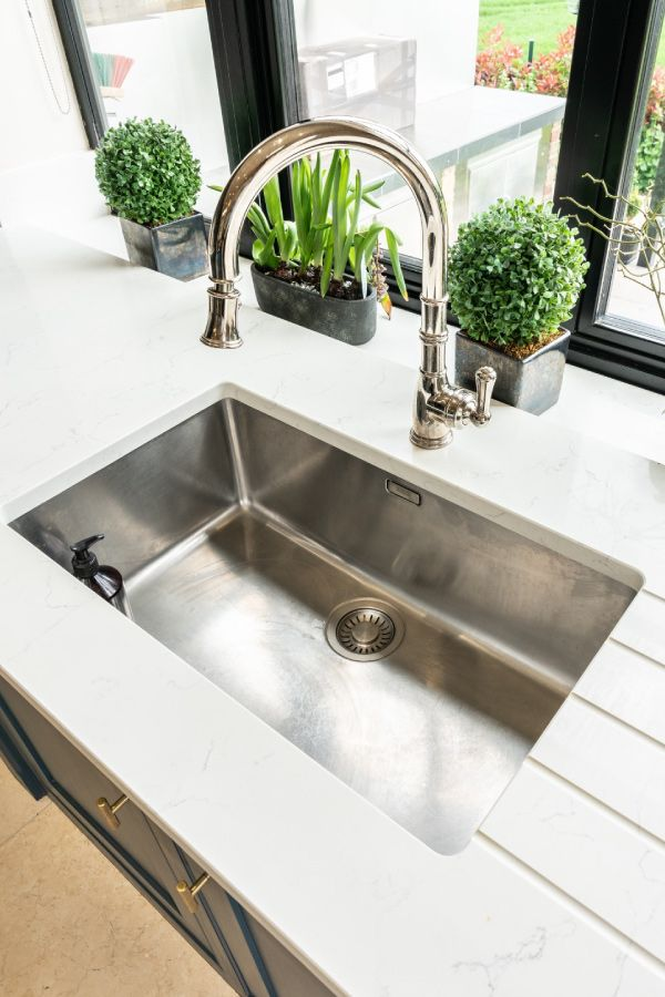 A Beautiful Shot Of The Franke Sink We Installed Into A Mable