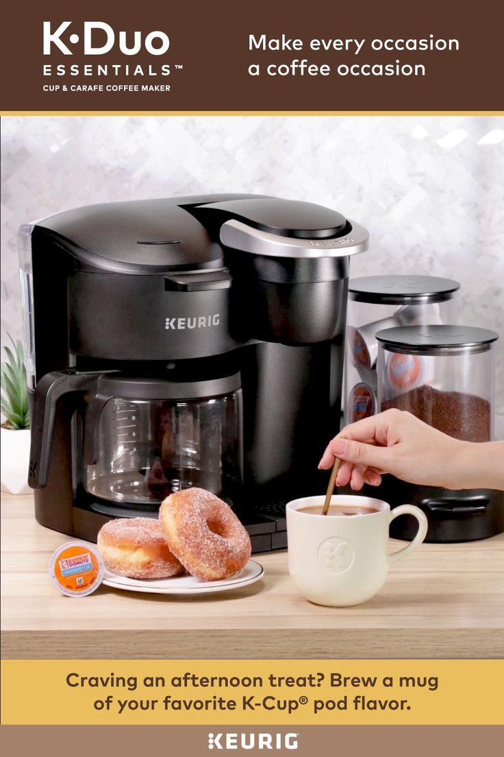 Keurig kduo essentials single serve carafe coffee maker