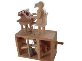 Secretary Bird  Ivan's 1st Automata Designed & Created by Ivan Morgan