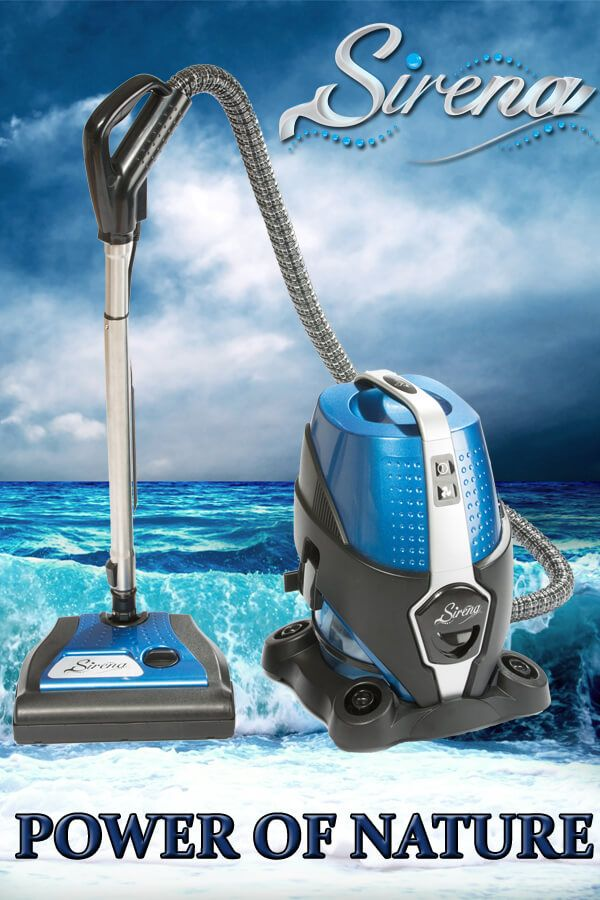 Discover The Power Of Water Vacuum Cleaners With Sirena Free Shipping Starting From