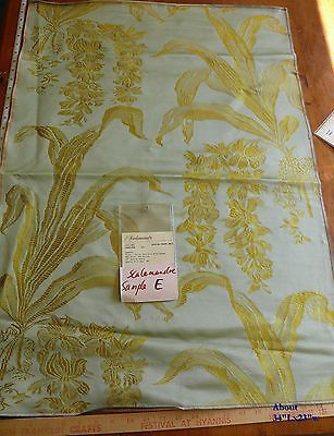 SCALAMANDRE LARGE SQUARE HIGH END FABRIC MSRP$200-400+/Y E57