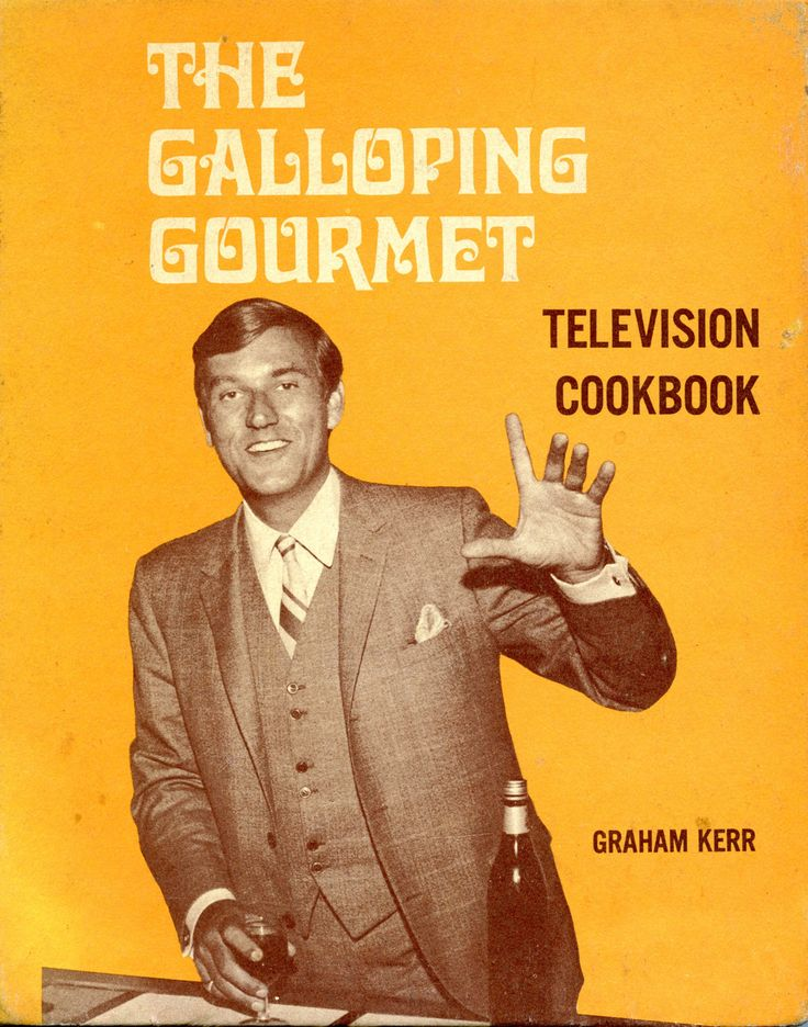 "Oh yes...no-one realised (til much later) he was tippling lots while making his cooking series He always said ""add a slurp of wine"" to everythingTelevi Cookbooks, Cooking Series, Cookbooks Antiques, Cookbooks Collection, Galloping Gourmet, Graham Kerr, Gourmet Television, Vintage Cookbooks, Classic Cookbooks"