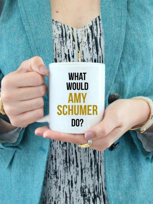 "I'm often so inspired by comedian and feminist, Amy Schumer's, brazen, hilarious, and and female empowering approach to life. This is for the girl, who like me, sometimes just has to ask herself...""Wh"