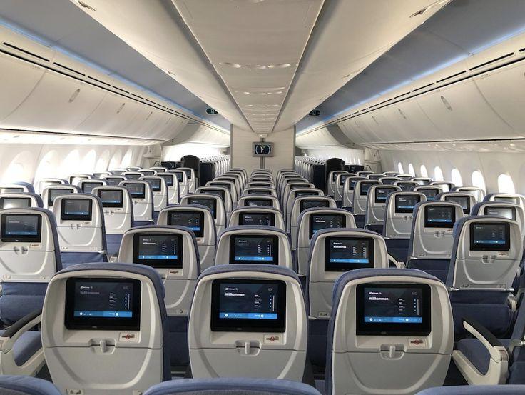 Cabine Economy du nouveau Boeing 787-9 d'Air Europa
