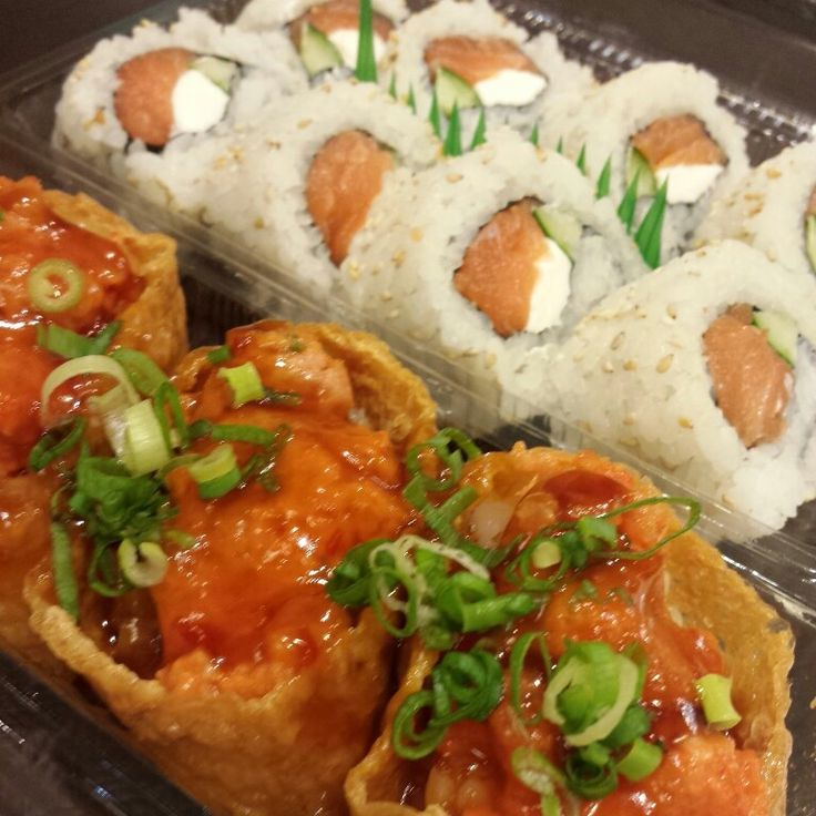 Spicy ahi poke bombs at ninja sushi for poke lovers for Aloha asian cuisine sushi