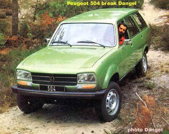Dangel Peugeot 504 Break 4x4