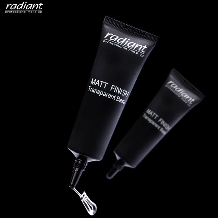 #Natural #makeup looks great on everyone! Matt Finish Transparent Base has a silky texture, translucent matte finish and will help set your make up. #Primers #Base