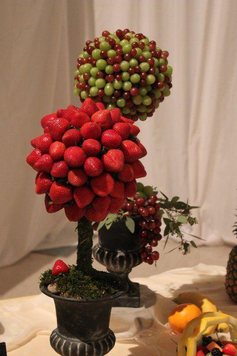 topiary de frutas
