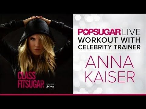 Full 35 min workout Live in Studio !!!! Kelly Ripa's Trainer Leads Our Live Class FitSugar