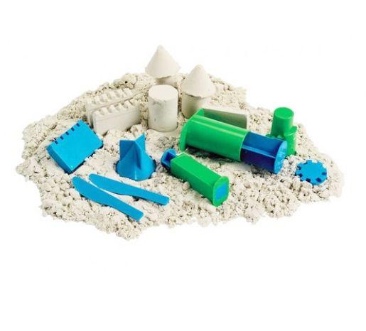 Песок Кинетический  Приятное занятие и развитие для вашего ребенка, а также метод релаксации для всей семьи в одной упаковке!  Песок для лепки Kinetic Sand - уникальный материал для детского творчества.