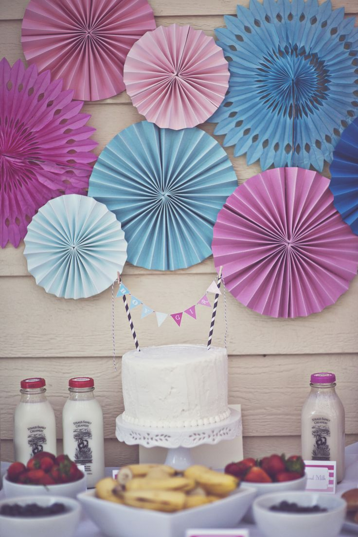 1000 ideas about gender reveal decorations on pinterest for Baby party decoration