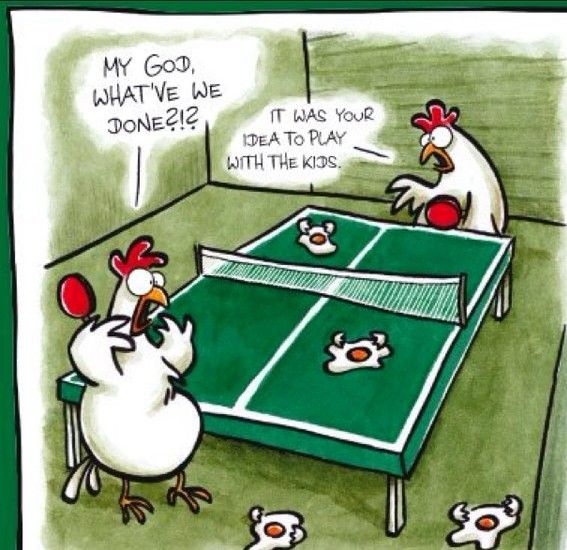 tischtennis cartoon