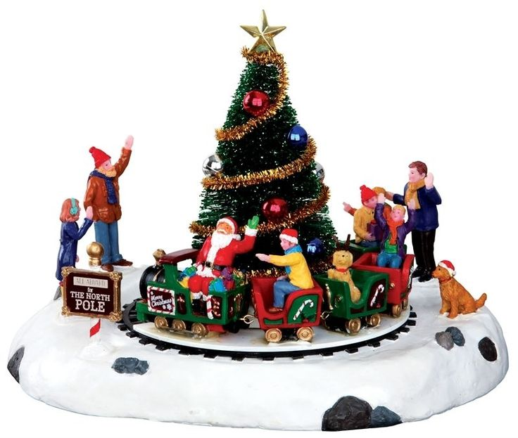 162 best Lemax Christmas Village Collection images on Pinterest ...