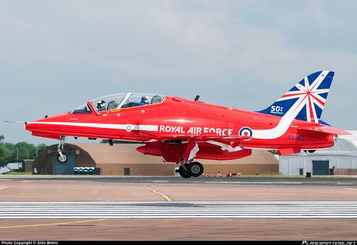 BAe Hawk T1A in Fairford