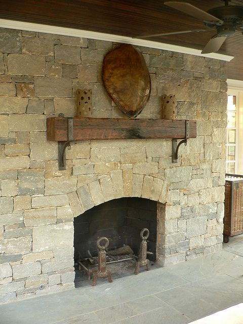 exterior mantle brackets by Maynard Studios