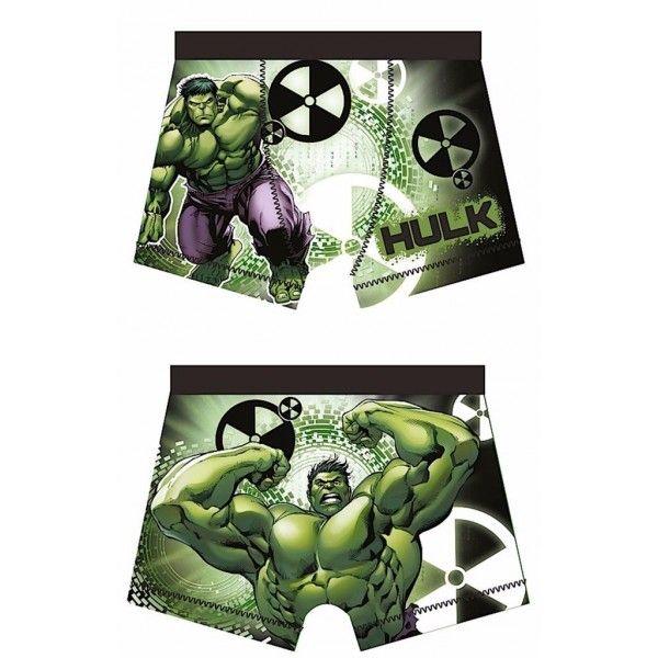 Underbukser med Hulk fra Marvel Avengers serien