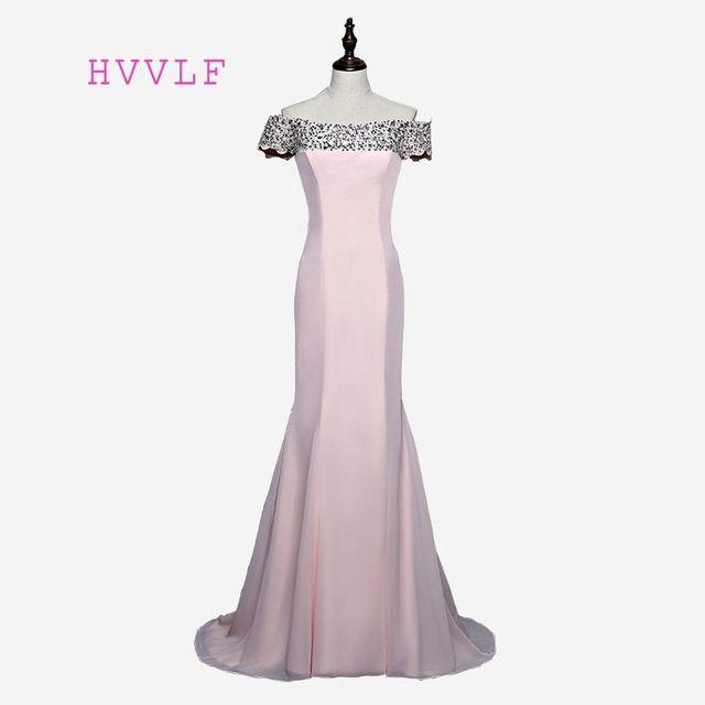 Cap Sleeves 2018 Cheap Bridesmaid Dresses Under 50 Mermaid Satin Beaded  Crystals Sexy Coral Long Wedding d9cabba9516d