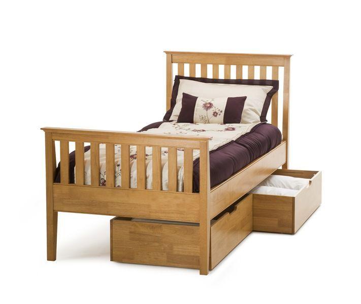 17 best images about wooden bed frames on pinterest for Shaker bed plans