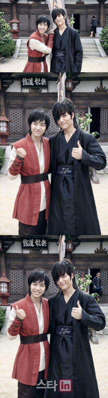 Holy Gumiho hotness Batman! Gu Family Book Lee Seung-gi and Choi Jin-hyeok @ HanCinema :: The Korean Movie and Drama Database