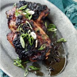 Cider-glazed chicken thighs | i love food