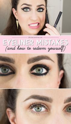 The five eyeliner mistakes you probably didnt know youre making.
