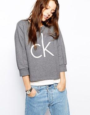 Bild 1 von Calvin Klein Jeans – CK – Sweatshirt