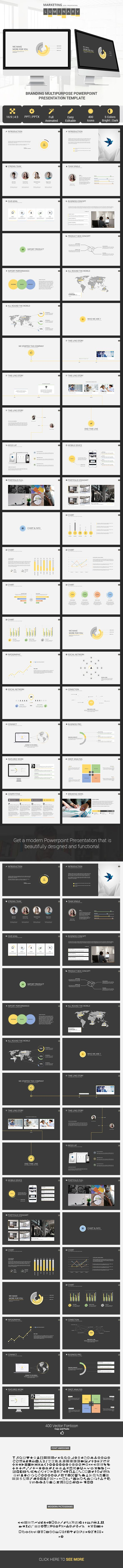 Luminary Business Template  Sample Business Plan Powerpoint Headings   • Competitive Landscape • Marketing Promotions • Pricing Strategy • Financial Projection • Company History • Sales Strategy • SWOT Analysis • Sales and Distribution