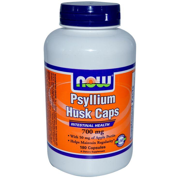Now Foods, Psyllium Husk Caps, 700 mg, 180 Capsules http://www.iherb.com?rcode=PFS184