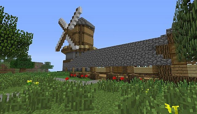 small farm Minecraft Project