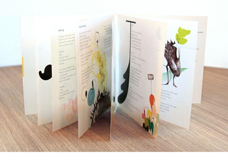 Leaflet for cd-cover Friendly Fools by Marjit Vinjerui