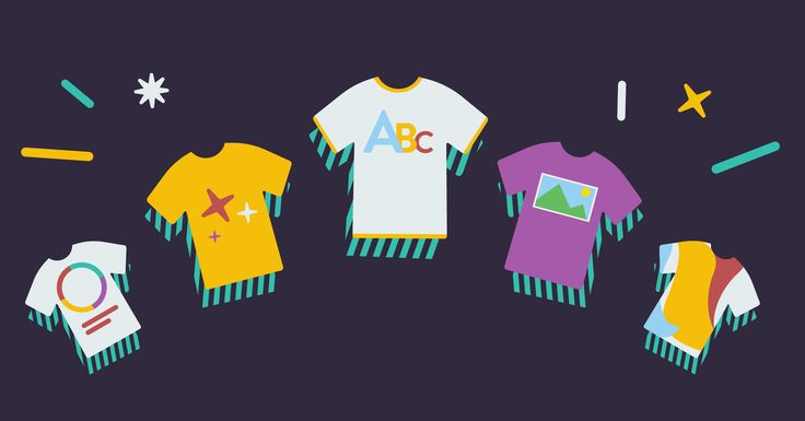 5 Types of T-Shirt Designs & Resources for T-Shirt Design Inspiration