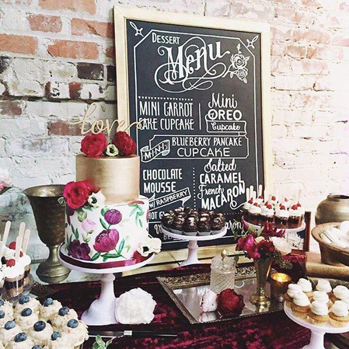 Wedding Sweet Table Desserts: Best 25+ Wedding Sweet Tables Ideas On Pinterest